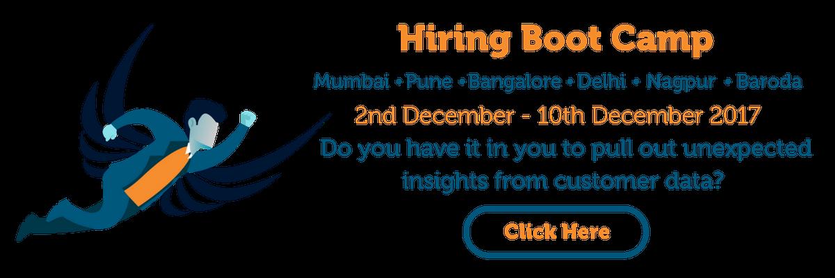 Customer Analytics - Boot Camp -India