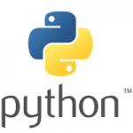 Python programming logo