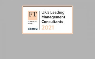 Acrotrend receives a silver rating from the Financial Times and is again named a leading UK Management Consultant
